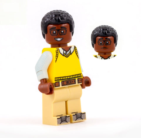 chidi, the good place - custom LEGO minifigure
