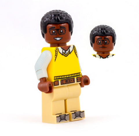 Chidi, The Good Place, What the Fork - Custom Design Minifigure