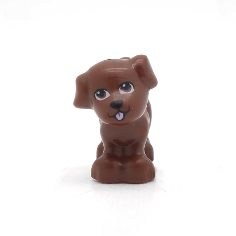LEGO Little Chocolate Brown Dog
