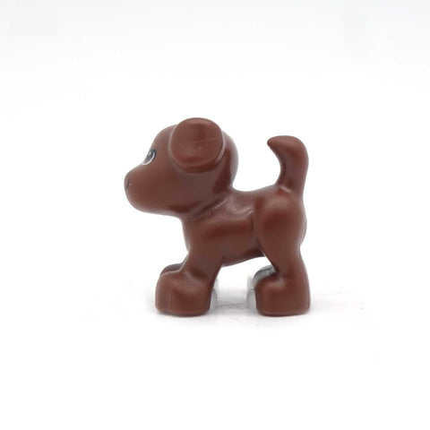 Little LEGO Dog (Chocolate Brown)