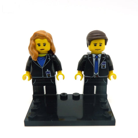 Plain Black 'Couples' Baseplate - LEGO Baseplate
