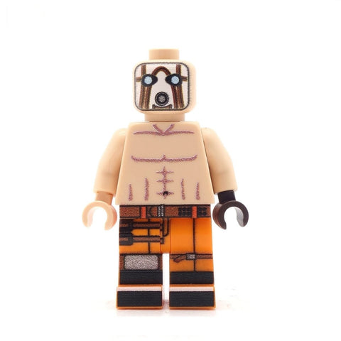 psycho borderlands custom lego minifigure