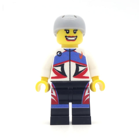 Personalised Cyclist Based on a Photo or Description - Bespoke Minifigure