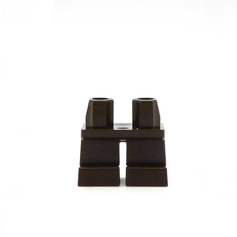 Short Dark Brown Legs LEGO Minifigure Legs