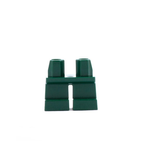 Short Dark Green Legs - LEGO Minifigure Legs