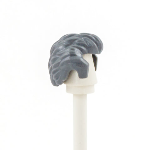 Dark Grey Receding - LEGO Minifigure Hair