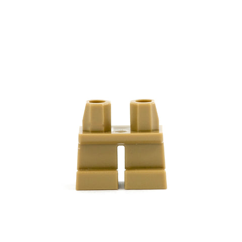 Short Dark Tan Legs - LEGO Minifigure Legs