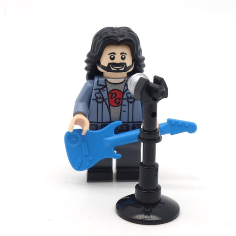 Legendary Rocker - Custom Design Minifigure