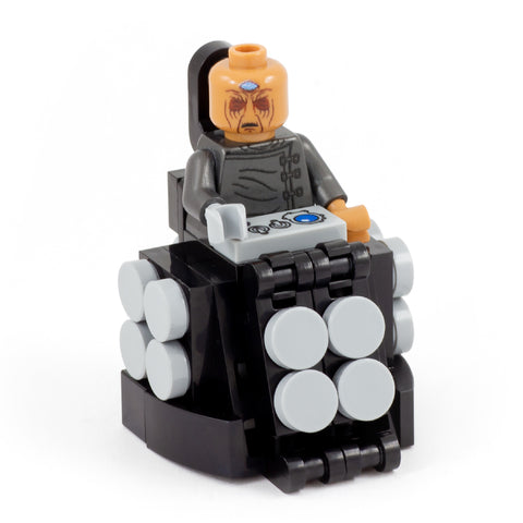 Davros from Doctor Who, Evil Time Travelling Genius - Custom Design Minifigure and Mini Build