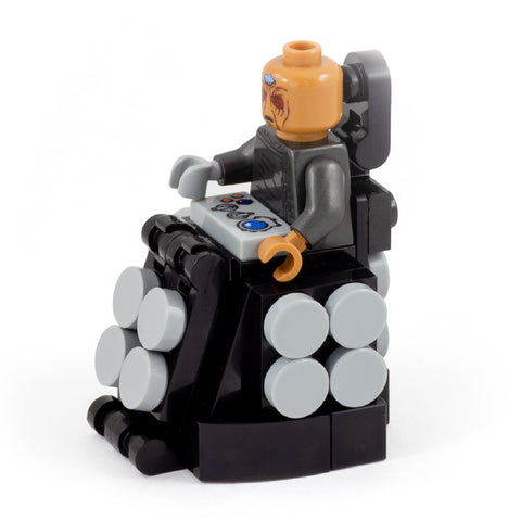 Evil Time Travelling Genius - Custom Design Minifigure and Mini Build