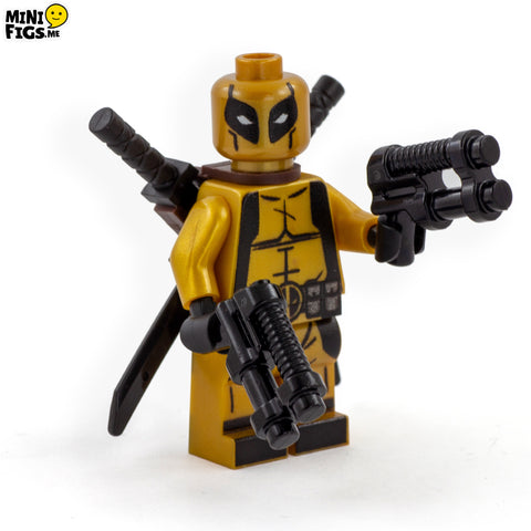 Exclusive Gold Suited Antihero - Custom LEGO Minifigure
