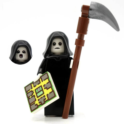 Death (The Grim Reaper) - Custom Design Minifigure