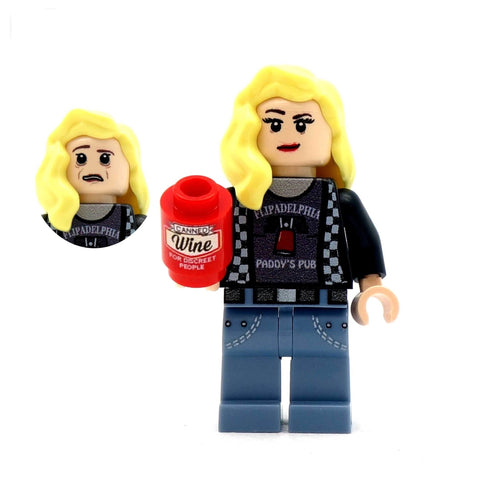 Dee (Never Raining in Brickadelphia) - Custom Design Minifigure