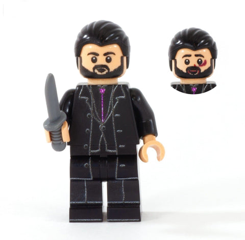 Crowley, Supernatural Demon - Custom Design Minifigure
