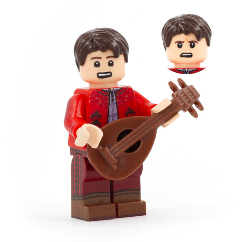 Jaskier - Custom Design LEGO Minifigure