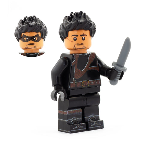 Diego Hargreeves, LEGO Umbrella Academy - Custom Printed Minifigures