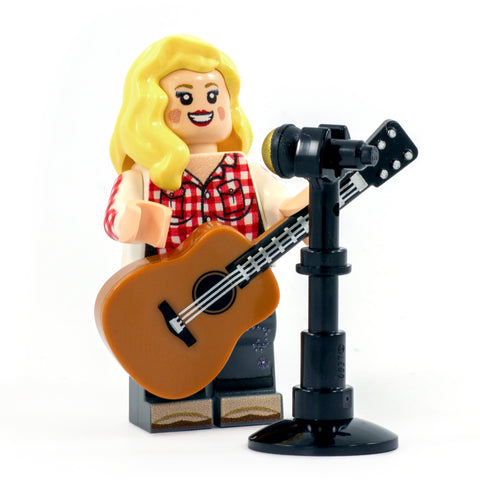 LEGO Dolly Parton the Country Music Singer - Custom Design Minifigure