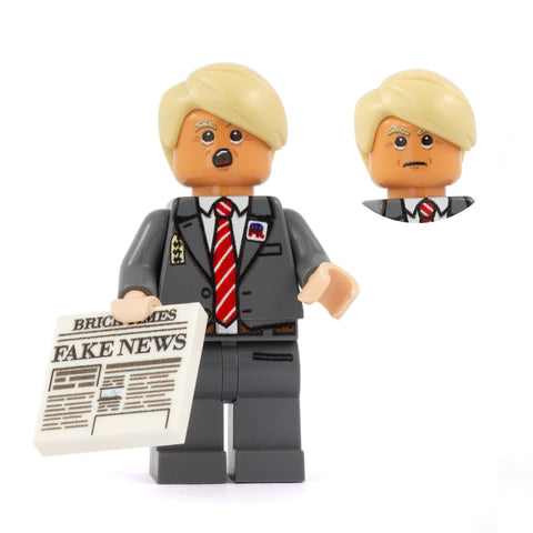 Donald Trump - Custom Design Minifigure