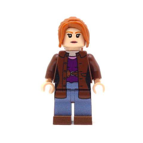 Donna the Companion from Doctor Who (light flesh) - Custom Design LEGO Minifigure