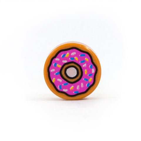 Donut FREE POST LEGO Decorated Tile