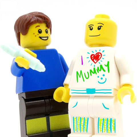 Doodle Your Own Minifigure (Draw Your Own!) - Custom Printed LEGO Minifigure