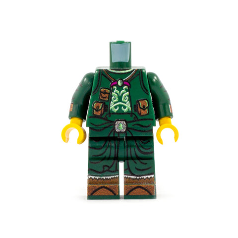 Druid Outfit (Regular Legs, Various Colours Available) - Custom Design Minifigure Legs and Torso