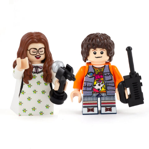 Suzie and Dustin (Stranger Figs) - Custom Design Minifigure