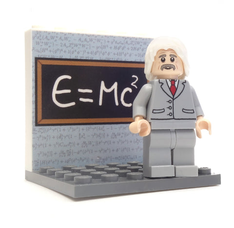 Albert Einstein - Custom Design LEGO Minifigure