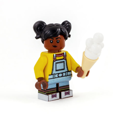 Erica (Stranger Things) - Custom Design LEGO Minifigure