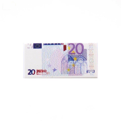 20 Euro Note Custom Designed LEGO Tile