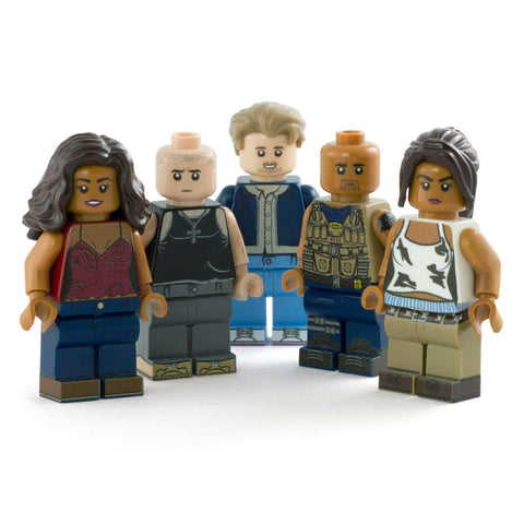 Fast and the Furious, custom LEGO Minifigures