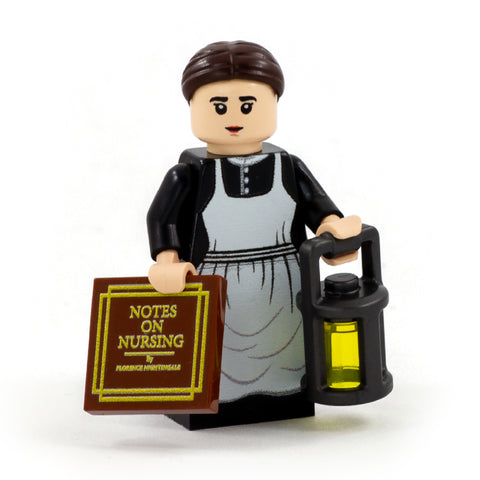 Florence Nightingale - Custom Design Minifigure