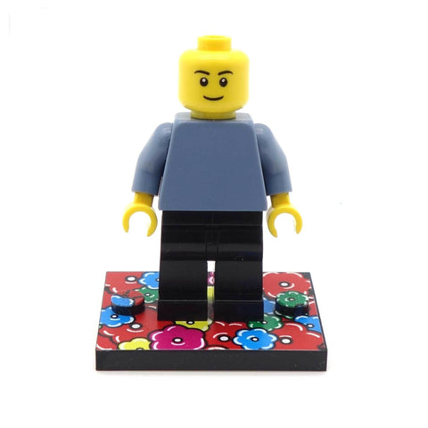 Little Hippy Flowery Baseplate - Custom Printed Baseplate
