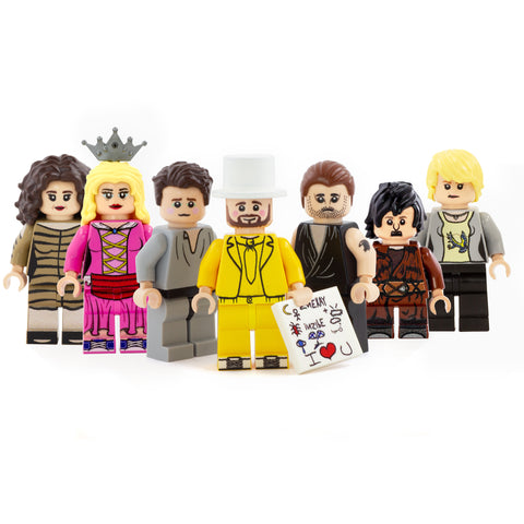 The Nightman Cometh Full Set (7 figures) - Custom Design Minifigure Set