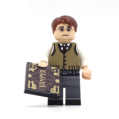 Giles, Buffy the vampire slayer, custom lego minifigure set