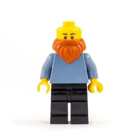 Ginger LEGO Minifigure Beard