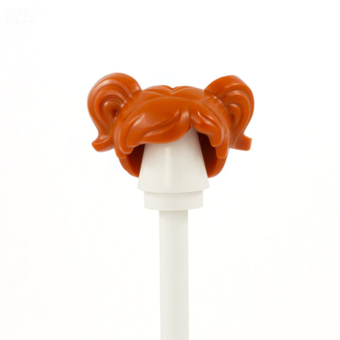 Ginger Bunches - LEGO Minifigure Hair
