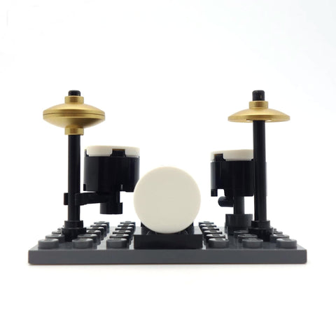 LEGO Gold Cymbal Drum Kit