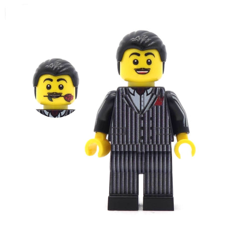 Morticia and Gomez (Kooky Family) - Custom Design Minifigure Set