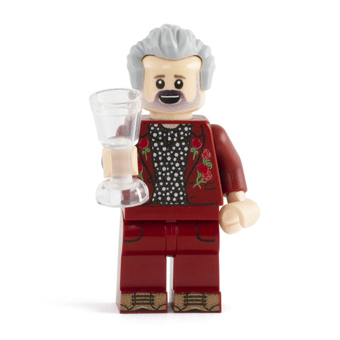 Chatshow Host - Custom Design Minifigure