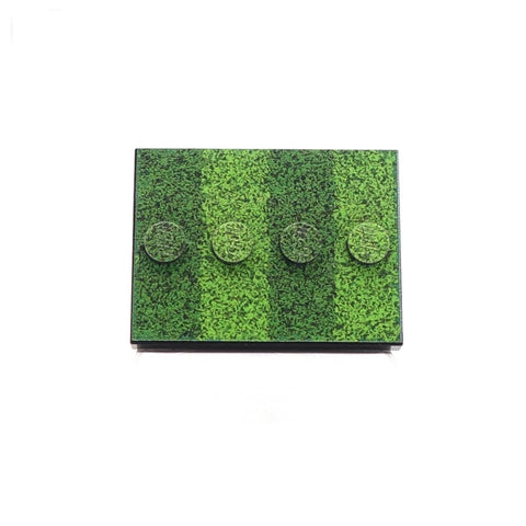 Little 'Grass Covered' Baseplate Custom Printed LEGO Baseplate