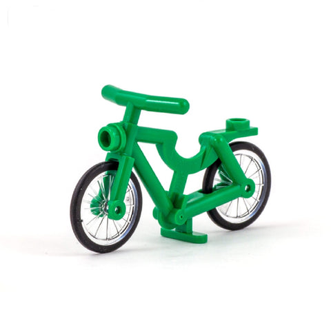 Green LEGO Bike - Minifigure Accessory