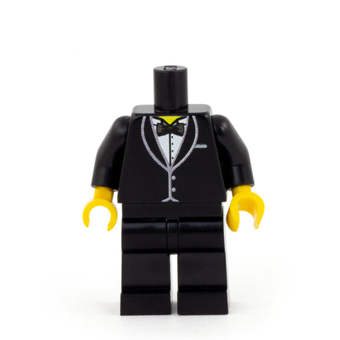 Personalised Groom Minifigure - Custom Design Minifigure