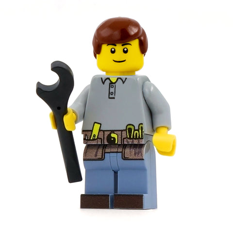 Handyman Dad - Custom Design LEGO Minifigure