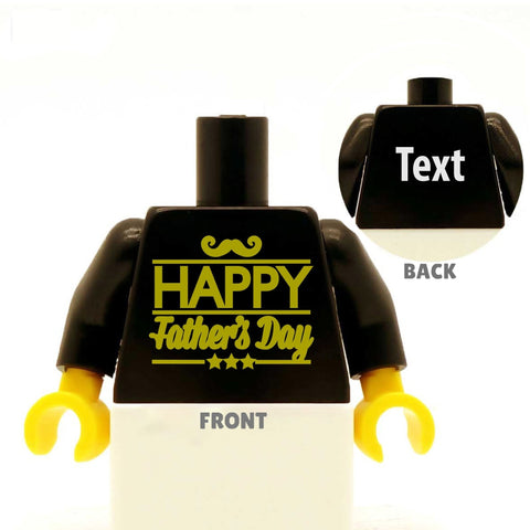 Happy Father's Day - Custom LEGO Torso