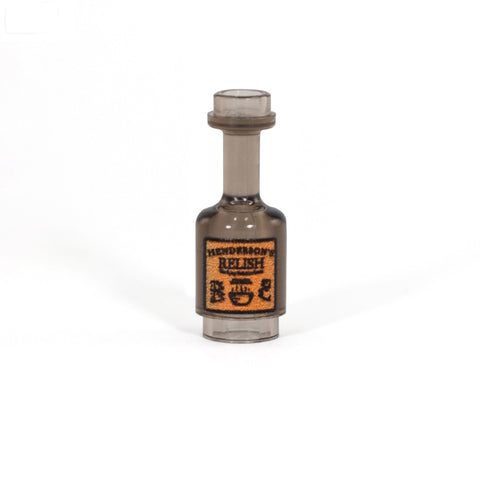 Bottle of Henderson's Relish - Custom Printed LEGO Bottle