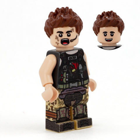 Hicks from Aliens, the Xenomorph Hunter - Custom Design LEGO Minifigure