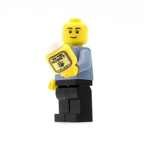 Minifig Holding Jar of Honey