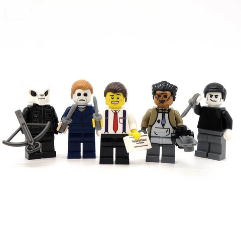 Oh The Horror: Series 1  - Custom Minifigure Set