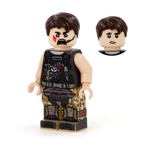 Hudson from Aliens, the Xenomorph Hunter - Custom Design LEGO Minifigure